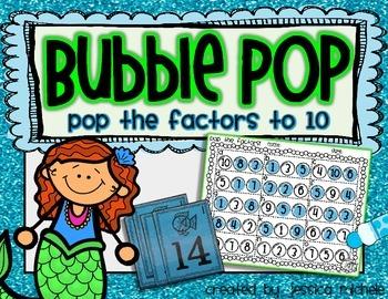 Bubble Pop {Pop the Factors to 10}