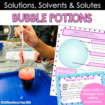 Bubble Potions with Snape