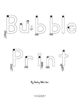Handwriting RTI - Bubble Print