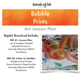 Bubble Prints - (Process Art, Physical Sciences, Color Mix