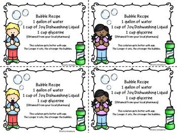 Bubble Recipe