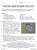 Bubble Science Literacy, Craft and Investigation Activities