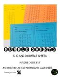 Bubble Sheets