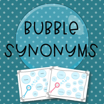 Bubble Synonyms