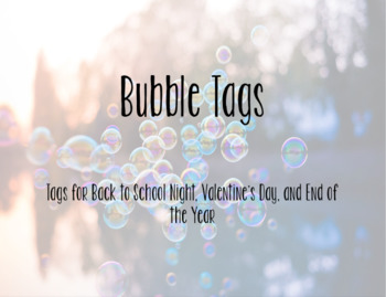 Bubble Tags