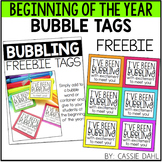 Bubble Tags - Beginning of the Year