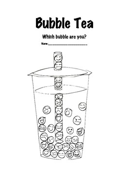 Bubble Tea Self Assessment