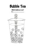Bubble Tea Self Assessment
