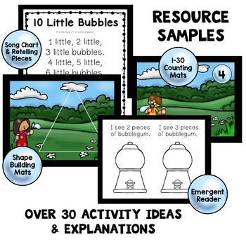 Bubble Theme Home Preschool Lesson Plans
