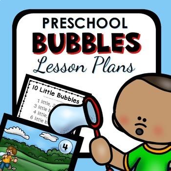 Bubble Theme Preschool Lesson Plans