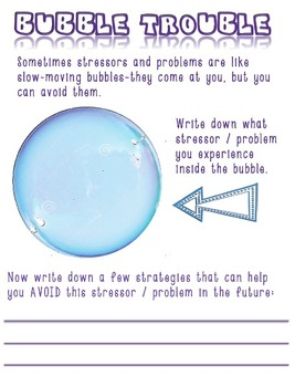 Bubble Trouble: Coping and Conflict Resolution Skills