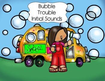 Bubble Trouble Initial Sounds