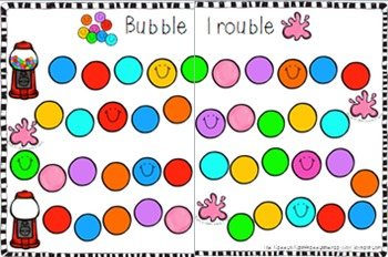 Bubble Trouble Multiple Articulation Game