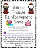 Bubble Trouble Reinforcement Game
