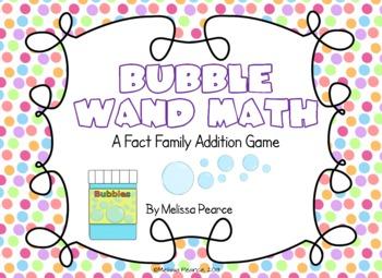 Bubble Wand Math: Addition Game