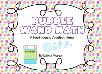 Bubble Wand Math: Addition Game
