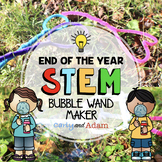 Build a Bubble Wand End of the Year STEM Challenge