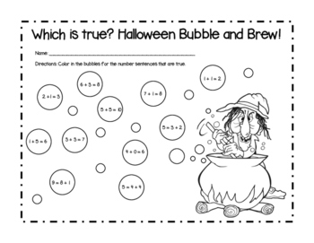 Bubble and Brew Math