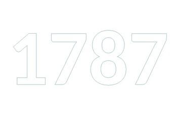 Bubble notes 1787