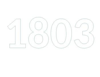Bubble notes 1803