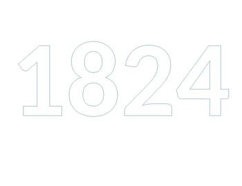 Bubble notes 1824
