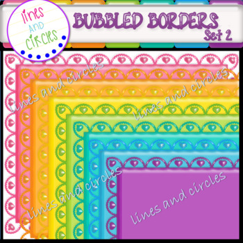 Borders / Frames: Bubbled Set 2