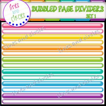 Dividers - Bubbled Set 1