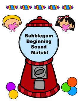 Bubblegum Beginning Sound Matching