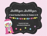 Bubblegum Bubblegum- A Sweet Counting Collection For Numbers to 10