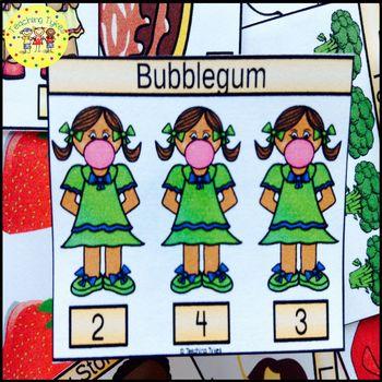 Bubblegum Clip Task Cards