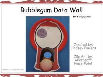 Bubblegum Data Wall for Kindergarten