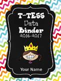 Bubblegum Editable T-TESS Data Binder Covers