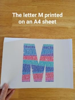Bubblegum Glitter Letters and Numbers Font Clip Art
