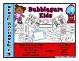 Bubblegum Kids Mini Preschool Theme - Counting Gumballs