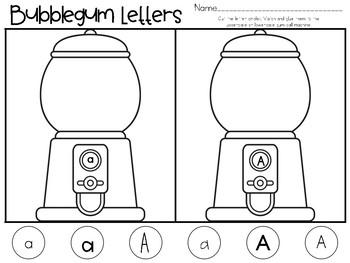 Bubblegum Letters