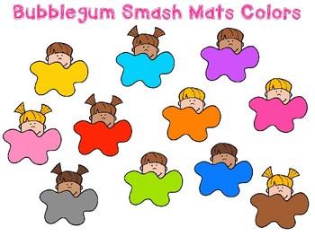 Bubblegum Dough Smash Mats
