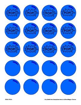 Bubblegum Sight Word Game: Set 3 - F&P Next 100 words