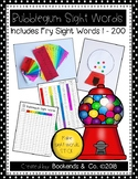 Bubblegum Sight Words