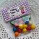 Bubblegum Valentine Large Treat Bag Toppers