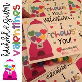 Bubblegum Valentine's Day Cards