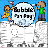 Bubble Activities Bundle