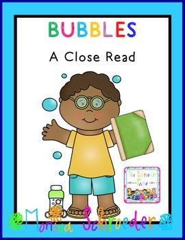 Bubbles:  A Close Read
