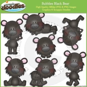 Bubbles Black Bear