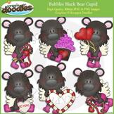 Bubbles Black Bear Cupid