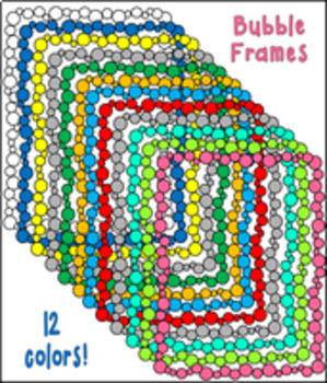Bubbles Borders and Frames
