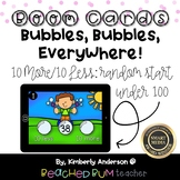 Bubbles, Bubbles, Everywhere! BOOM Cards (10 Less / 10 Mor