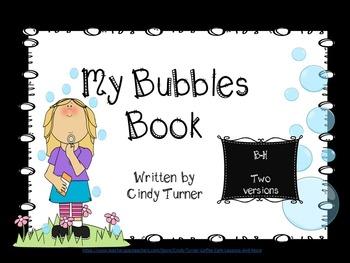 Bubbles Emergent Reader