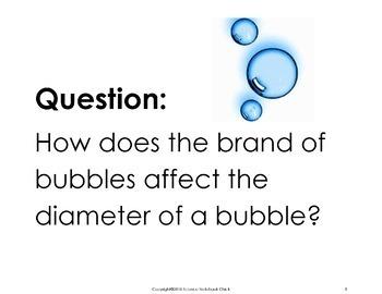 Bubbles Experiment