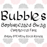 Bubbles Font License - Sophisticated Swag