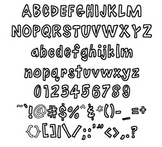 Bubbles: Font for Personal + Commercial Use